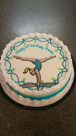 Dairy Queen Gymnastic Cake