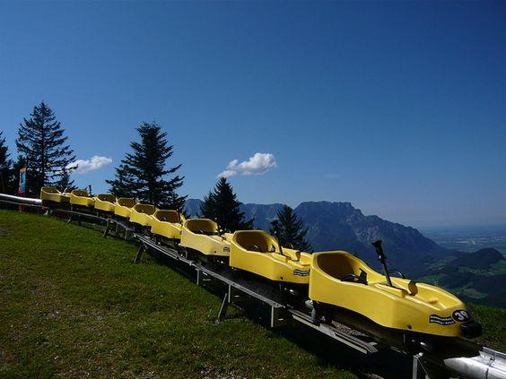 Abfahrt Rodelbahn 夏季雪橇