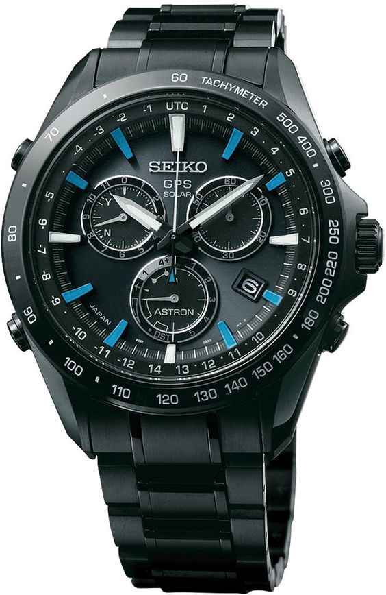 Seiko Astron Watch GPS Solar Chronograph Blue #bezel-fixed…