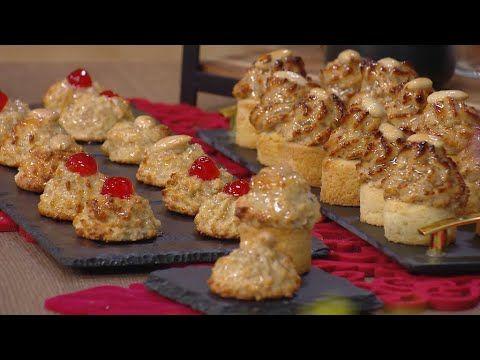 صابلي باللوز و القطايف أذواق خديجة خديجة جكون Samira Tv Youtube Food Breakfast Cookies