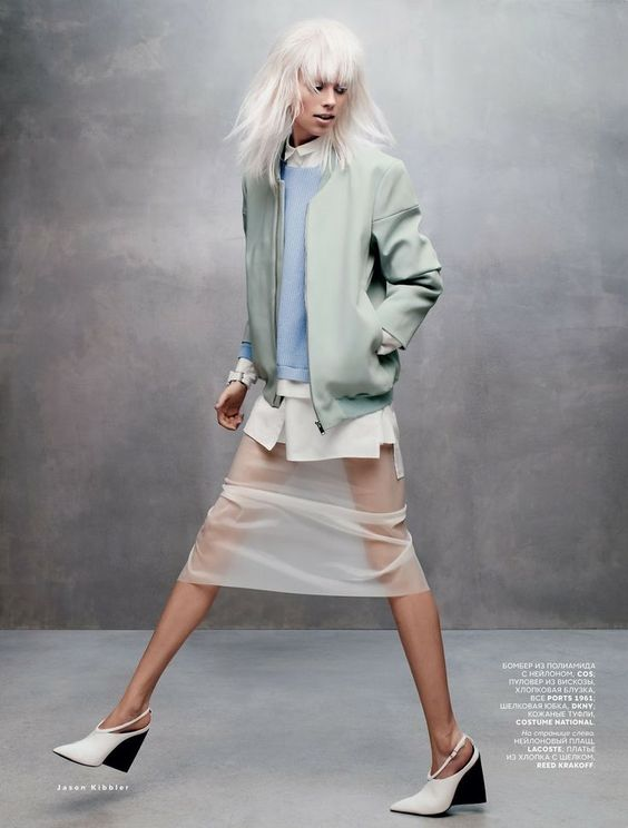 visual optimism; fashion editorials, shows, campaigns & more!: treadmill running: lexi boling by jason kibbler for vogue russia march 2014