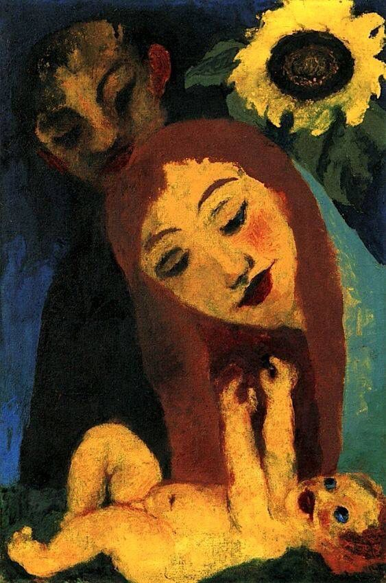 "Emil Nolde ""Family"", 1931 (Germany, Expressionism, 20th cent.):"