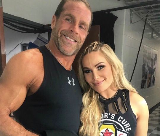 Natalya Shares A Great Moment With Shawn Michaels Shawn Michaels