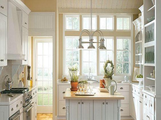 Thomasville Kitchen Cabinets White Villa Style ~ http://lanewstalk ...