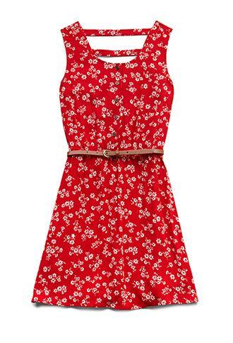 Cool Girl Floral Dress (Kids) | FOREVER21 girls - 2000088225