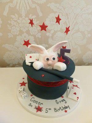 Magic Hat novelty cake
