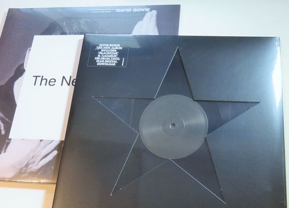 Online veilinghuis Catawiki: David Bowie - His last 2 albums: The Next Day & Blackstar * 3LP's (180 gram vinyl)  + bonus CD
