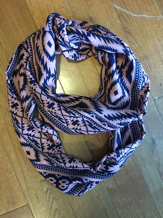 A personal favorite from my Etsy shop https://www.etsy.com/listing/231361766/aztec-infinity-scarf