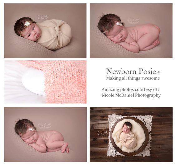 Stellen Sie mich Baby Neugeborene Neugeborenen Posie von PoseMeBaby