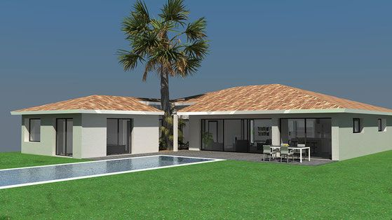 Modèle Maeva 7 - 4 ch de Maisons SIC Maison Pinterest - creer le plan de sa maison