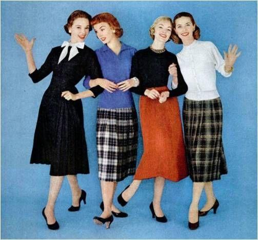 women's fashion 1950s