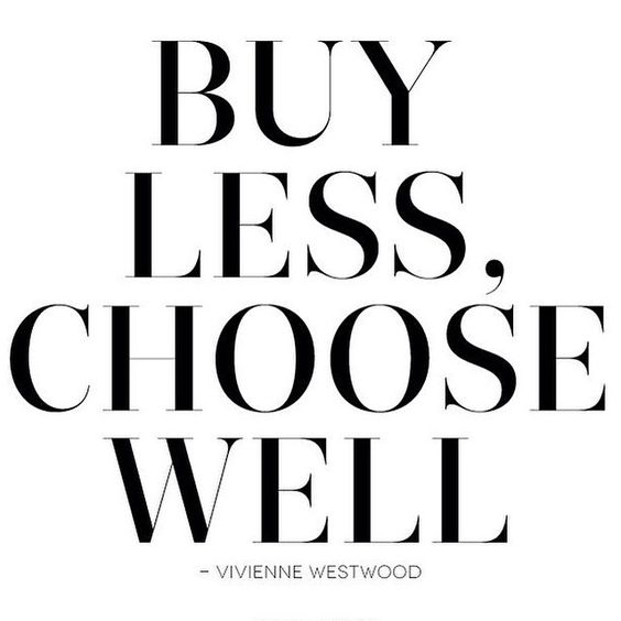 If only we could stick to this rule, lol, it's more like BUY MORE AND OFTEN for us.  #shopaholics #motto #quote #shopping #style #styleblogger #blogger #instadaily #potd #qotd #ni #northernireland #ireland