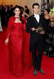 Monica Bellucci in Dolce + Gabbana @ Met Bal
