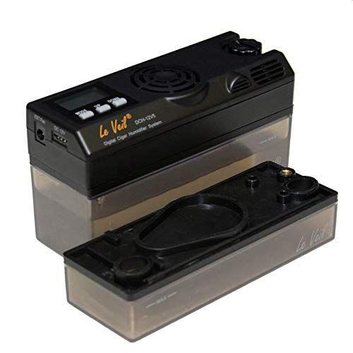 Le Veil Icigar Dch 12v5 Intelligent Digital Humidifier W Extra Kit Humidifier Get Reviews Cigar Humidifier Good Cigars Humidifier
