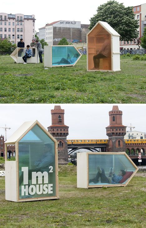 World's Smallest House? 1 Sq M of Mobile Living Space, by Van Bo Le-Mentzel