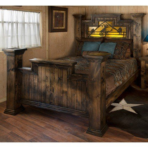 Wild Woods Weathered Timber Bed In 2019 Painted Bedroom