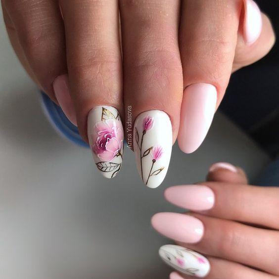 Modne Paznokcie Na Wiosne Top 30 Rewelacyjnych Propozycji Na Wiosenny Manicure Acrylic Nail Designs Sassy Nails Swag Nails