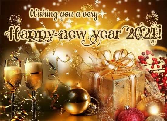 Happy New Year 2021 To You Free Happy New Year Ecards Greeting Cards 123 Greeting In 2021 Happy New Year Ecards Happy New Year Fireworks Free Online Greeting Cards