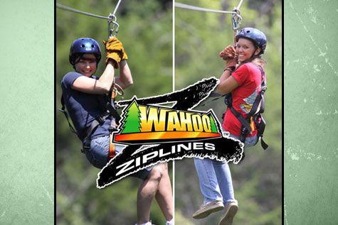 Guided Zipline Tour at Wahoo Ziplines ($39)