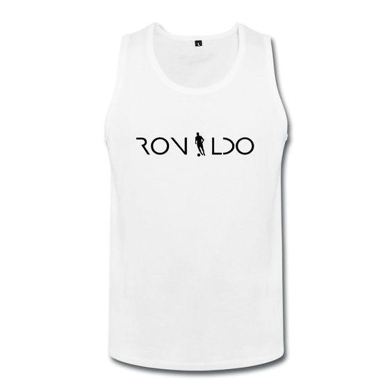 BONYA Men's 100% Cotton Cristiano Ronaldo 7 Tank Top