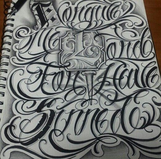 28+ [chicano Lettering God Design By]