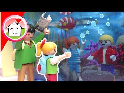 Playmobil Film Familie Hauser Im Aquarium Mit Lena Und Ihrer Klasse Video Fur Kinder Youtube In 2020 Kinder Videos Playmobil Schulausflug