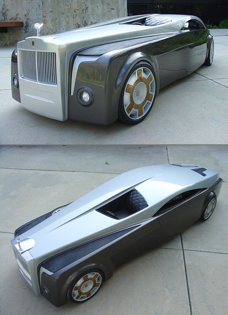 Rolls-Royce Apparition, this is a crazy car... wouldn't buy it but what a conversation topic.: