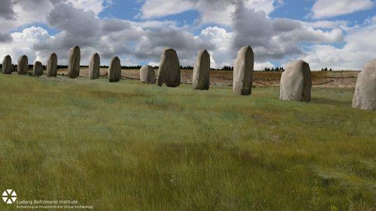 durrington walls, stonehenge, super henge, stone monument, ritual spaces, vince gaffney, Ludwig Boltzmann Institute