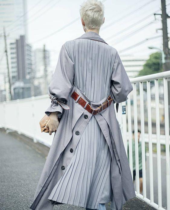 Pleats Thank You Fashion Designer Outerwear Street Style