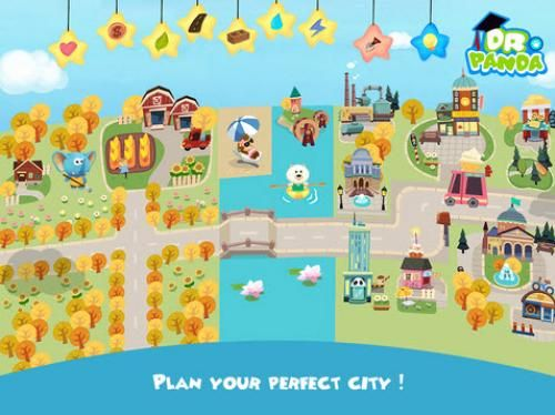 Hoopa City Reviews Kids Apps Best Dr. Panda Games - Kids Video Application iPhone iPad