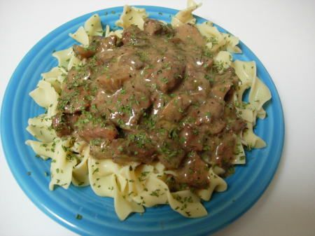 Simple (Crock-Pot) Beef Stroganoff Recipe