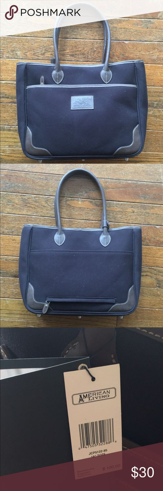 """Travel Tote/ Weekender 16"""" Travel Tote. New with tags, never used. Perfect for fall! Part of the American Living Mackenzie Luggage collection. American Living Bags Totes"""