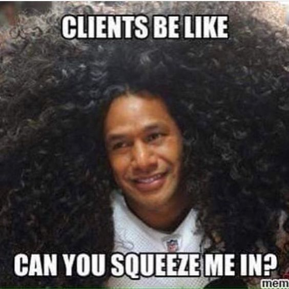"193 Likes, 6 Comments - Bronner Bros (@bronnerbros) on Instagram: "" #SalonJokes #BeautyShowHumor #BBbeautyShow #ItsBBbaby #Hair #Beauty #Highlights #Hairstylists…"""
