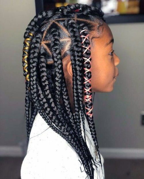 Best Images African American Girls Hairstyles New Natural Hairstyles Black Kids Hairstyles Hair Styles Little Girl Braid Styles