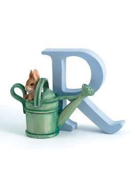 Beatrix Potter Alphabet Letter R