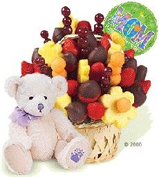 Bear, Fruits and Globe  This delicate detail, surely impress everyone. A soft teddy bear, accompanied by a message balloon with fresh fruit dipped in chocolate. Size Large (29x 22cm) http://www.compraleflores.com/tienda/product_info.php?cPath=44_id=285