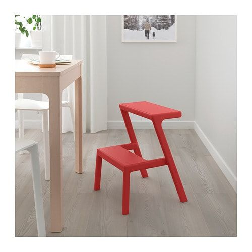Ikea Masterby Step Stool A Step Stool That Makes It Easier To Reach Things You Store High Up Tabouret Cuisine Ikea Rangement