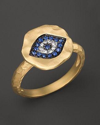 Meira T Evil Eye Ring   Bloomingdale's