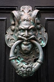 goatman. Google search...unusual doorknobs