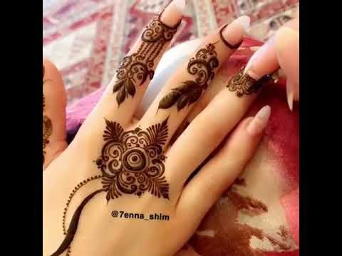 حناء ناعم روووعه Youtube Henna Hand Tattoo Henna Mehndi
