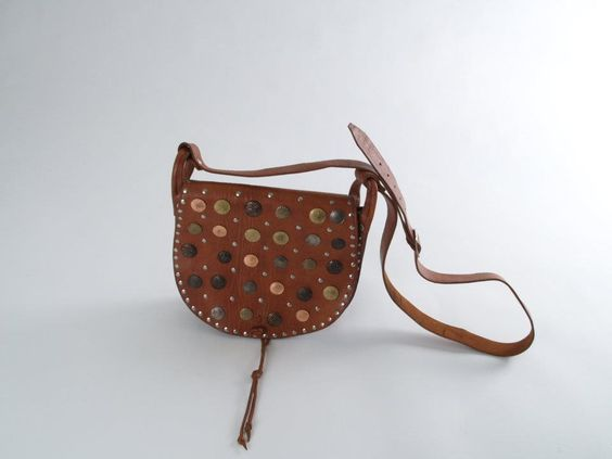 Canteen Leather Bag, Brown