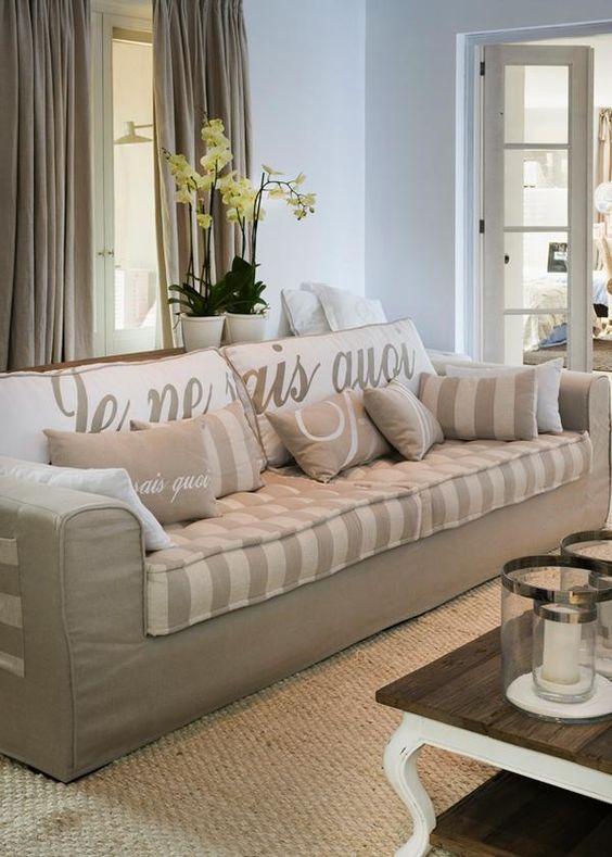 Pinterest the world s catalog of ideas - Sofa landelijke stijl stijlvol ...