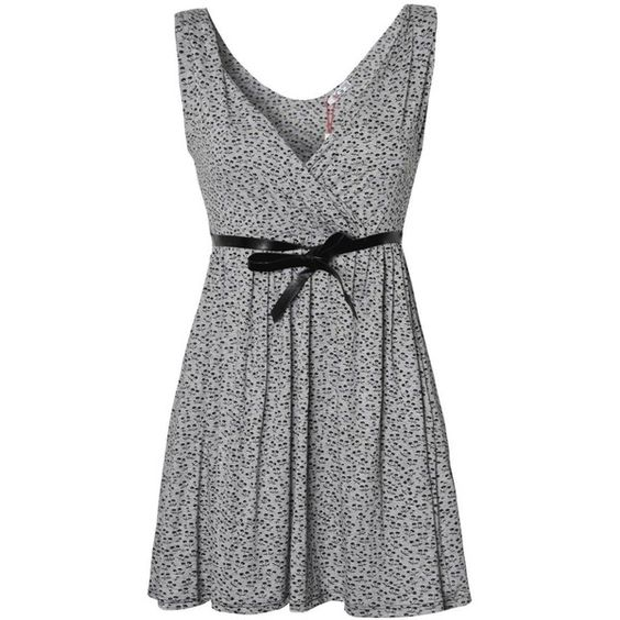 Wal G Cherry Print Dress ($19) ❤ liked on Polyvore