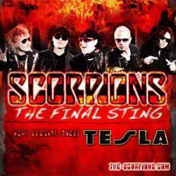 """Scorpions """"The Final Sing Tour"""" with Special Guest Tesla, 7/11/2012 @ the Mann"""