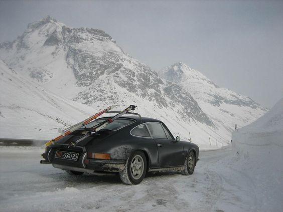 Alpine Porsche 911: