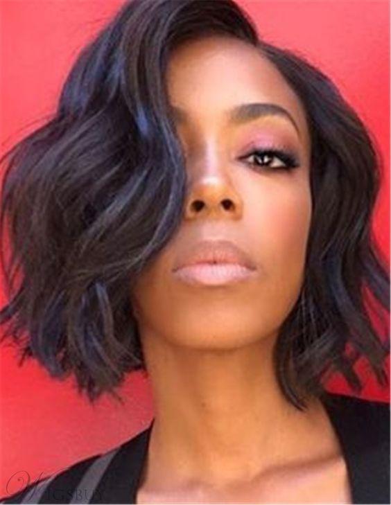 35+ Wavy bob hairstyles for black hair ideas in 2021