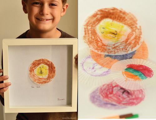 willowday: Easy Monday Making: Cupcake Liner Art