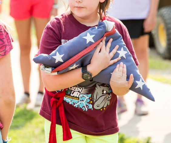 Stars and Stripes, the Star Spangled Banner, Old Glory – whatever you call it, the American flag is an important symbol to Girl Scouts here in the US of A. We wear it proudly on our vests and sashe…