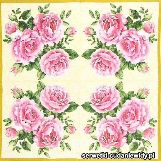Kolejne Wzory Serwetek Papierowych Paper Napkins Napkins Flowers