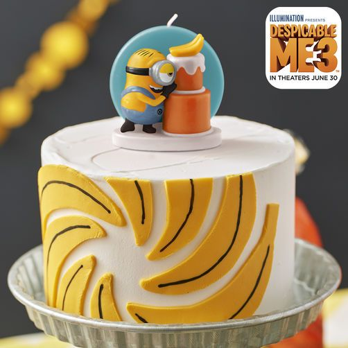 Despicable Me 3 Banana Cake With Images Banana Cake
